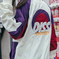 DISS Embroidered Retro Windbreaker - COCA