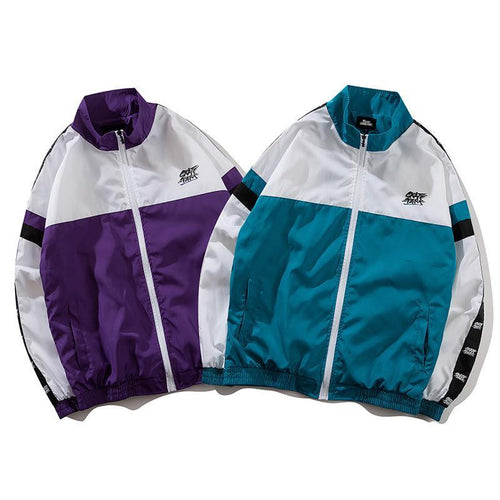 2-TONE Retro Windbreaker - COCA
