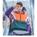 SPRINT Color Block Windbreaker - COCA