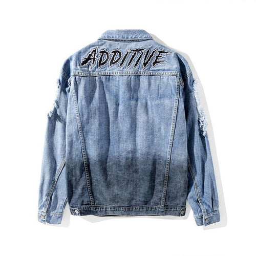 ADDITIVE Ripped Denim - COCA