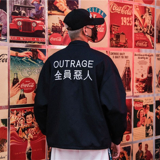 OUTRAGEOUS Windbreaker - COCA
