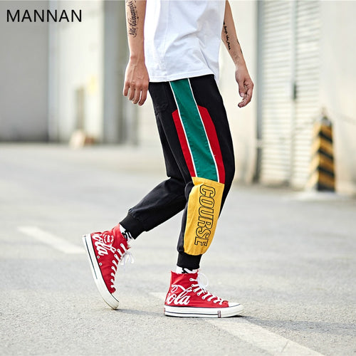 RETRO COURSE Patchwork Joggers