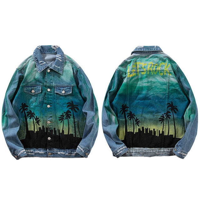 RETRO CITY Denim Jacket - COCA