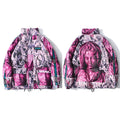 VIRGIN MARY Oversized Hipster Windbreaker