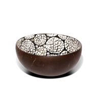 Mother of pearl Coconut Bowl with eggshell