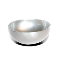 Metallic Lacquer Coconut Bowl - Limited Edition