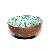 Eggshell coconut bowl
