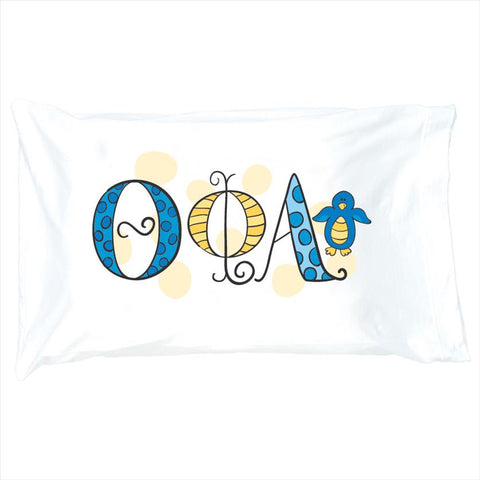 Pillowcase Theta Phi Alpha - Alexandra and Company
