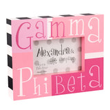 Block Frame Gamma Phi Beta - Alexandra and Company