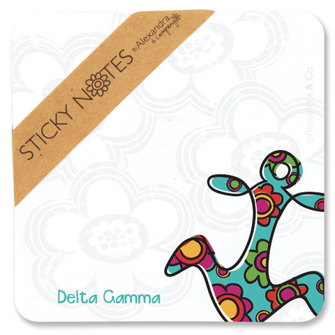 Sticky Notes Delta Gamma - Alexandra and Company