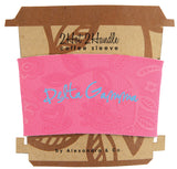 Coffee Sleeve Delta Gamma - Alexandra and Company