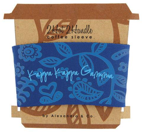 Coffee Sleeve Kappa Kappa Gamma - Alexandra and Company