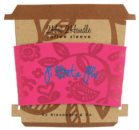 Coffee Sleeve Pi Beta Phi - Alexandra and Company