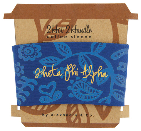 Coffee Sleeve Theta Phi Alpha - Alexandra and Company