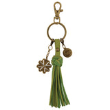 Tassel Key Fob Alpha Epsilon Phi - Alexandra and Company