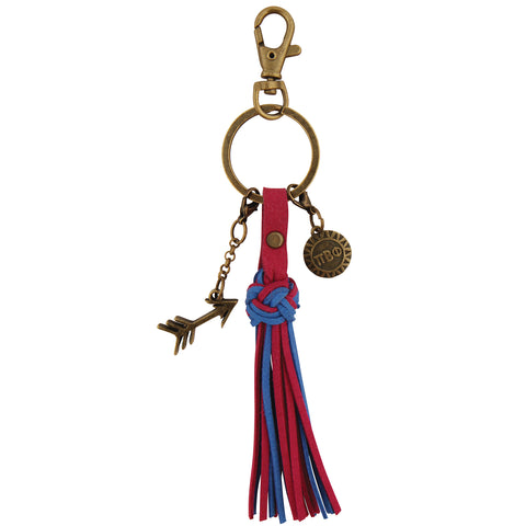 Tassel Key Fob Pi Beta Phi - Alexandra and Company