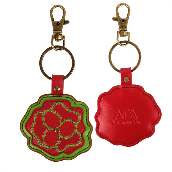Mascot Key Chain Alpha Gamma Delta - Alexandra and Company