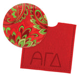 Button Mirror Alpha Gamma Delta - Alexandra and Company