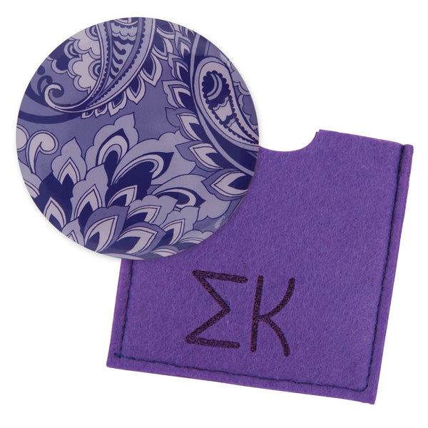 Button Mirror Sigma Kappa - Alexandra and Company