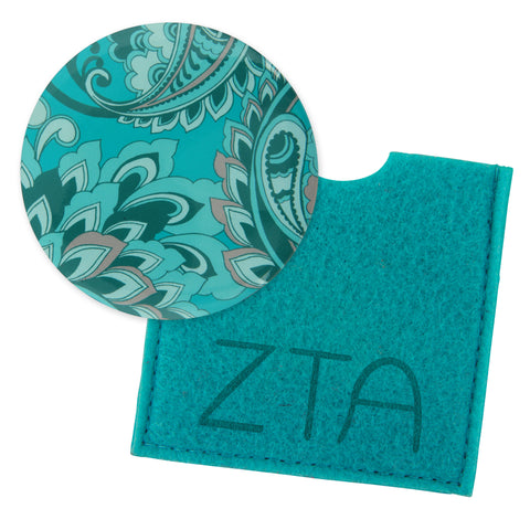 Button Mirror Zeta Tau Alpha - Alexandra and Company