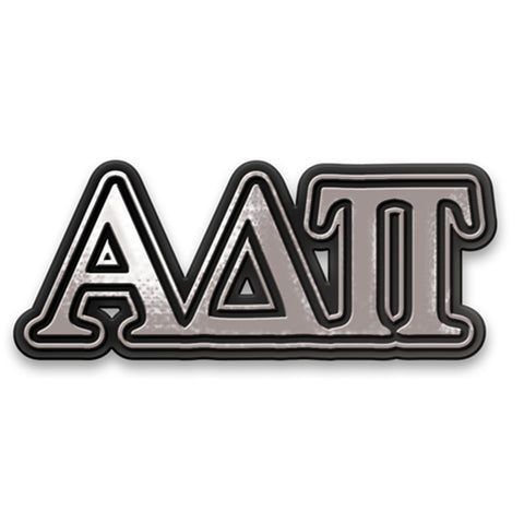 Chrome Car Emblem Alpha Delta Pi - Alexandra and Company