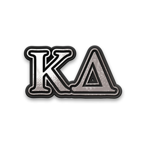 Chrome Car Emblem Kappa Delta - Alexandra and Company