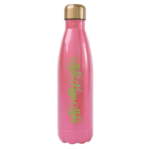 Ss Water Bottle Alpha Kappa Alpha