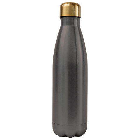 Ss Water Bottle Charcoal - Alexandra and Company