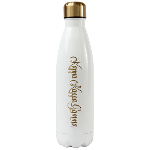 Ss Water Bottle Kappa Kappa Gamma - Alexandra and Company