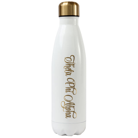 Ss Water Bottle Theta Phi Alpha - Alexandra and Company