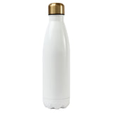 Ss Water Bottle White - Alexandra and Company