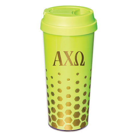 Coffee Tumbler Alpha Chi Omega - Alexandra and Company