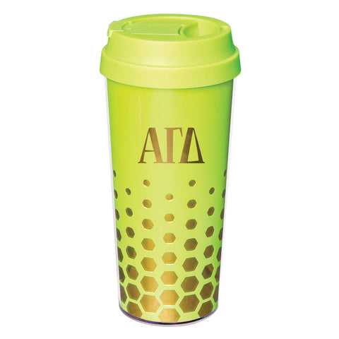 Coffee Tumbler Alpha Gamma Delta - Alexandra and Company
