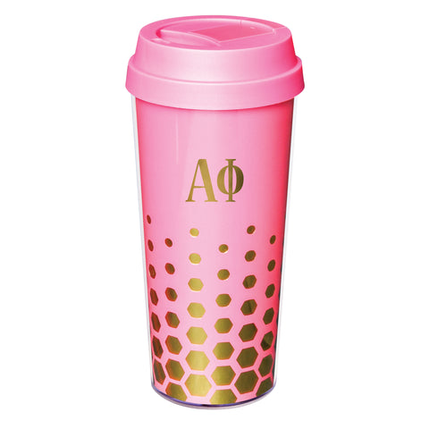 Coffee Tumbler Alpha Phi - Alexandra and Company