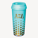 Coffee Tumbler Alpha Xi Delta - Alexandra and Company
