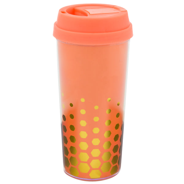Coffee Tumbler  Coral - Alexandra and Company
