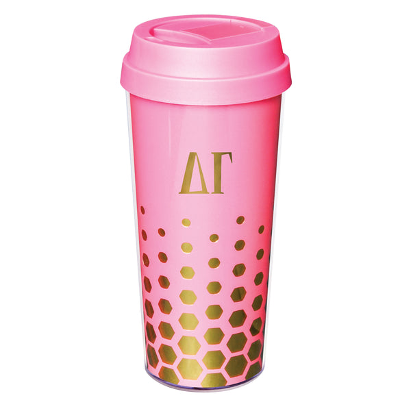 Coffee Tumbler  Delta Gamma - Alexandra and Company
