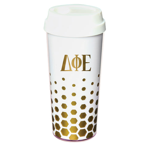 Coffee Tumbler  Delta Phi Epsilon - Alexandra and Company