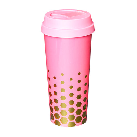 Coffee Tumbler  Pink - Alexandra and Company