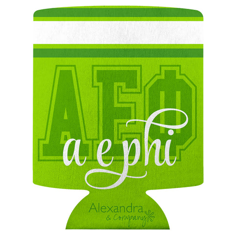 Koozie Alpha Epsilon Phi - Alexandra and Company