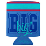 Koozie Big Sis Blue - Alexandra and Company