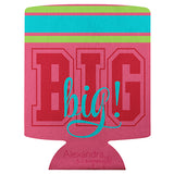 Koozie Big Sis Pink - Alexandra and Company