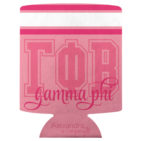 Koozie Gamma Phi Beta - Alexandra and Company