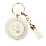 Acrylic Key Chain Delta Zeta - Alexandra and Company