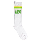 Knee High Socks Alpha Epsilon Phi - Alexandra and Company