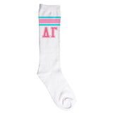 Knee High Socks Delta Gamma - Alexandra and Company