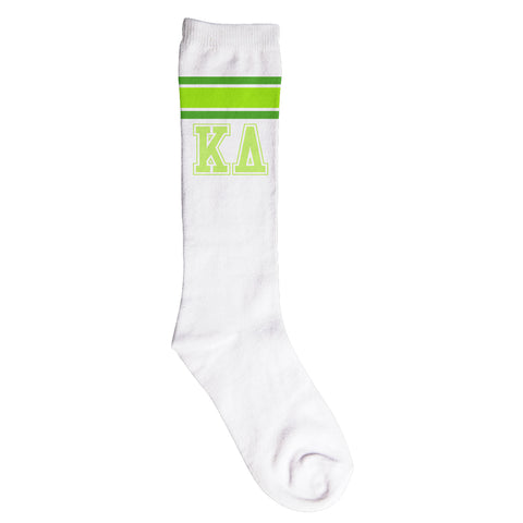 Knee High Socks Kappa Delta - Alexandra and Company