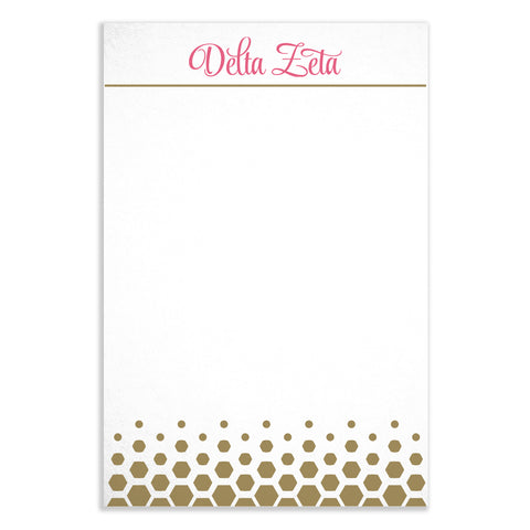 Notepad Delta Zeta - Alexandra and Company