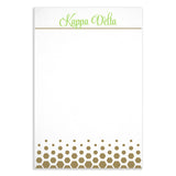 Notepad Kappa Delta - Alexandra and Company