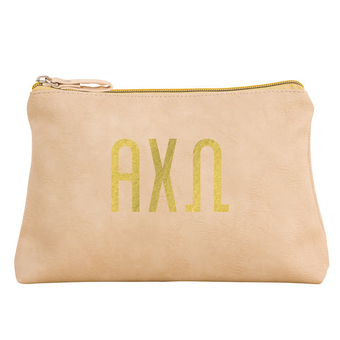 Cosmetic Bag  Alpha Chi Omega - Alexandra and Company